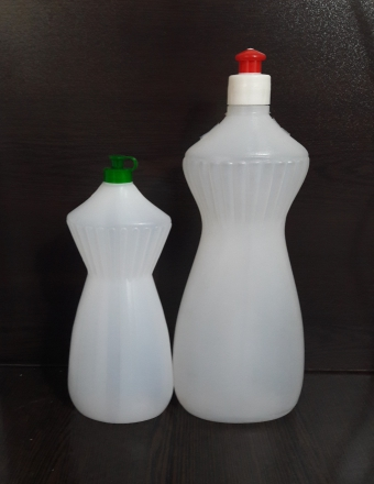 بطری مایع ظرفشویی 500 گرمی طرح گلی